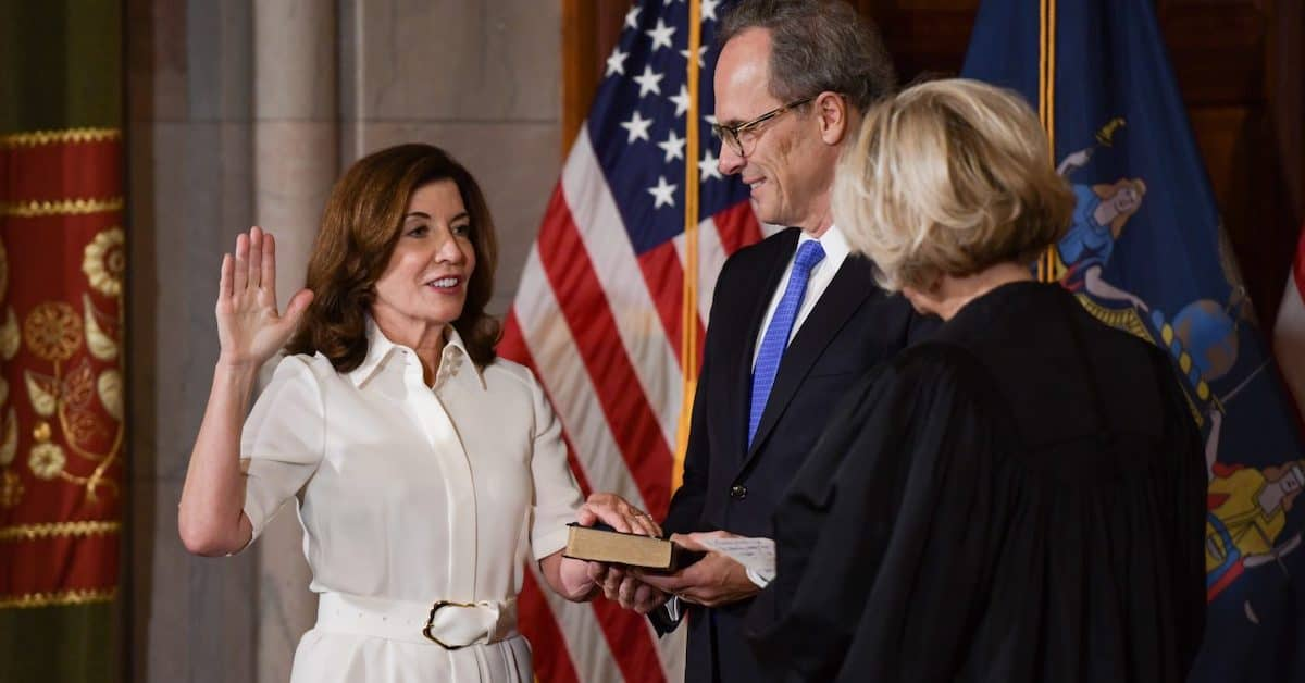 What God is New York Gov. Kathy Hochul Talking to Anyways?