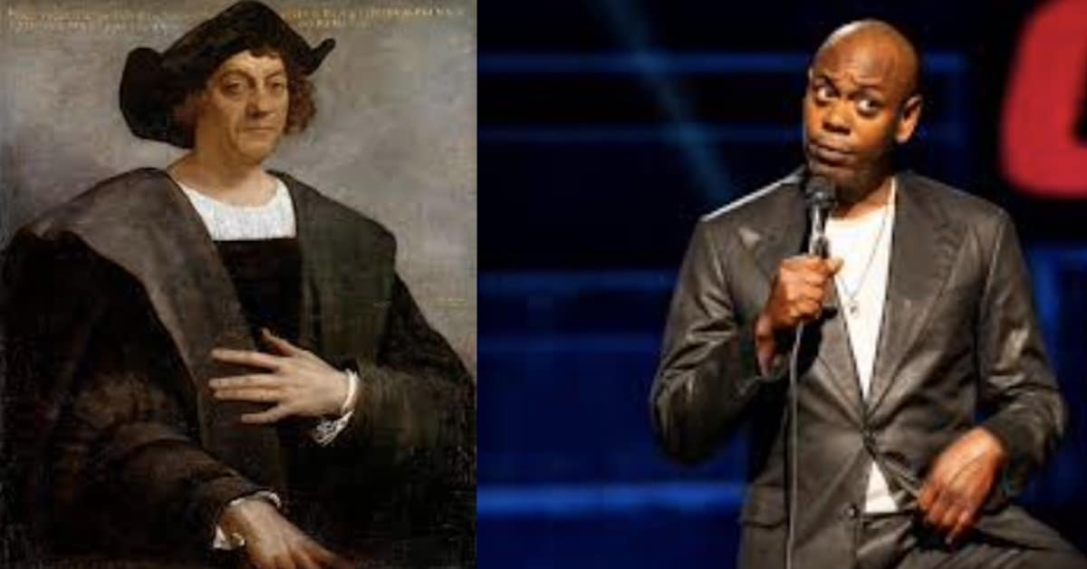 Canceling Christopher Columbus and Dave Chappelle
