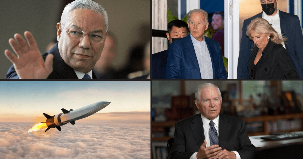 Colin Powell, China's Hypersonic Missile, Robert Gates on 60 Mins & Biden Unmasked