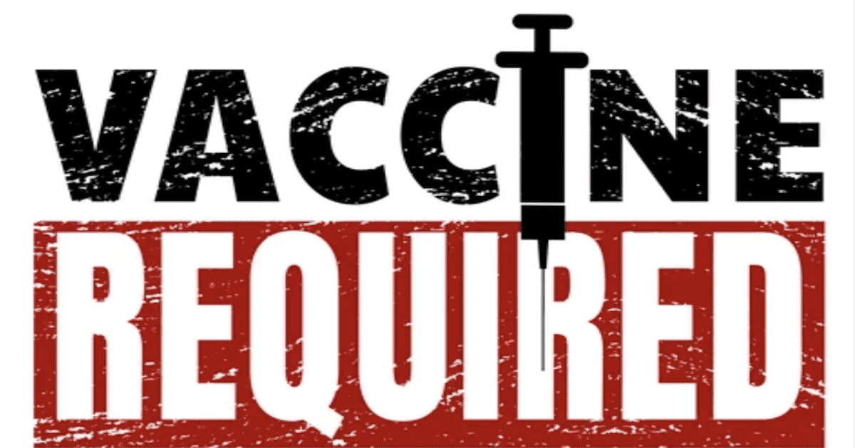 About These Vaccine Mandates… It's as if America had a King